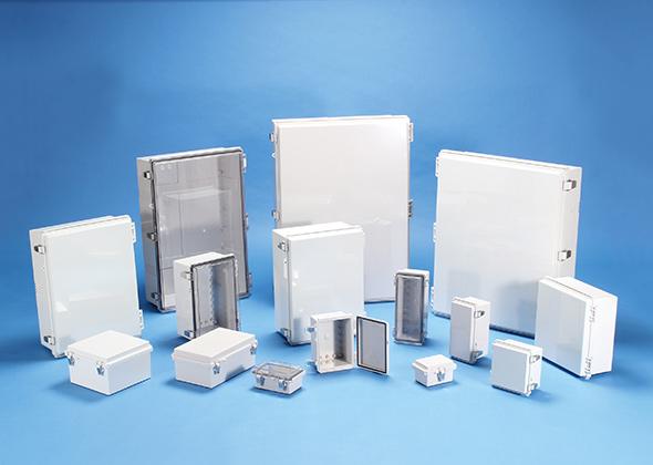 IP65 LATCH-HINGED ABS PLASTIC BOX - BCAP series