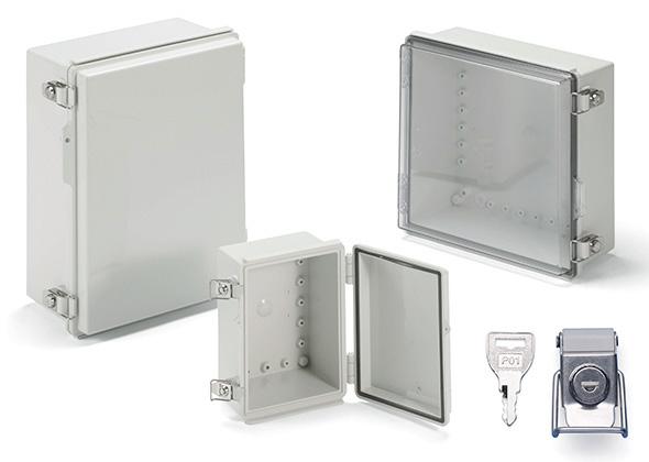 IP65 POLYCARBONATE BOX with KEY LOCK - BCPK series
