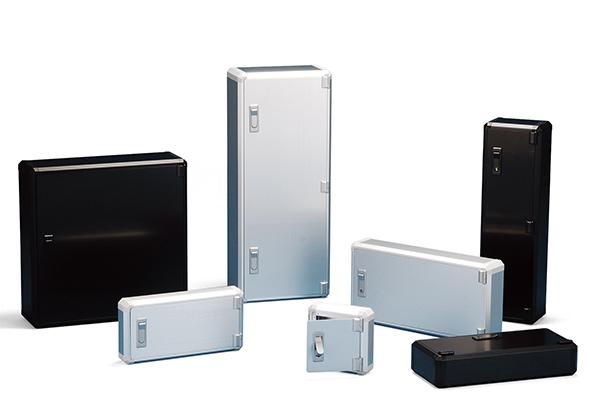 CUSTOM SIZED ALUMINIUM BOX WITH HINGED DOOR - FCWS series