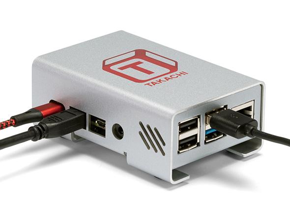 Raspberry Pi 4B ALUMINIUM CASE - RPI-4 series