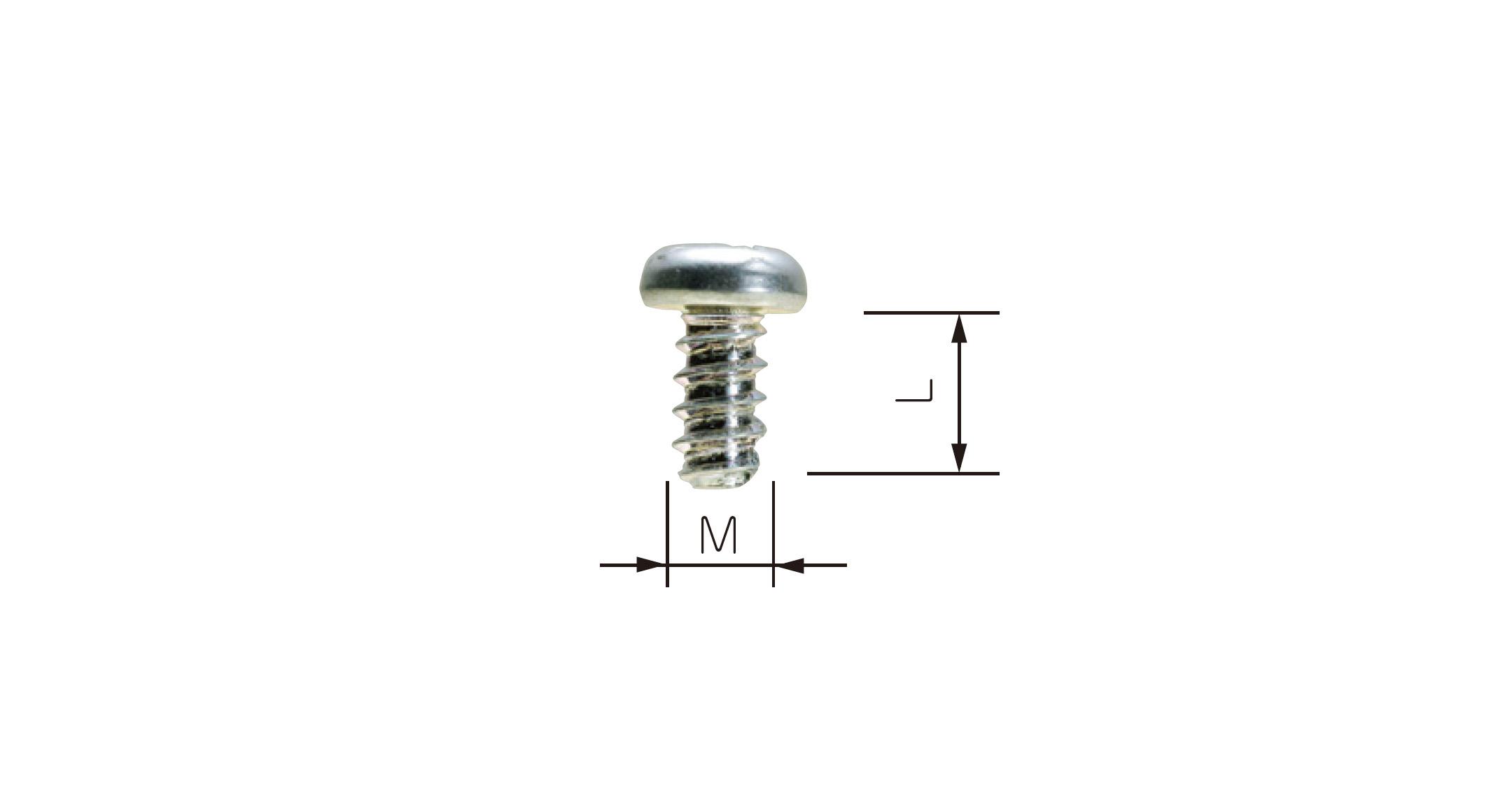 PCB MOUNTING SCREW - EM series