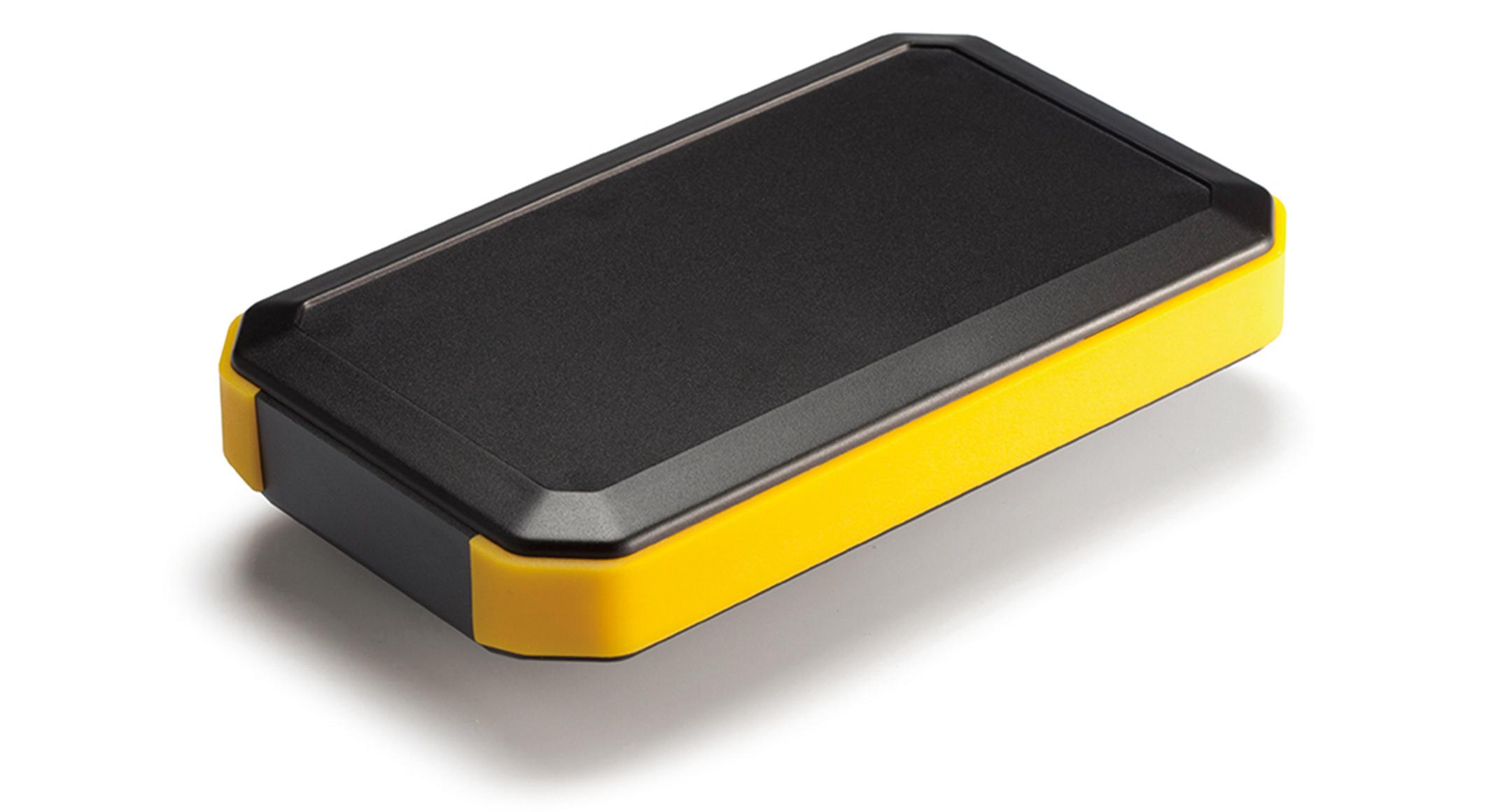 IP67 HANDHELD PLASTIC ENCLOSURE - WH series:Black/Yellow
