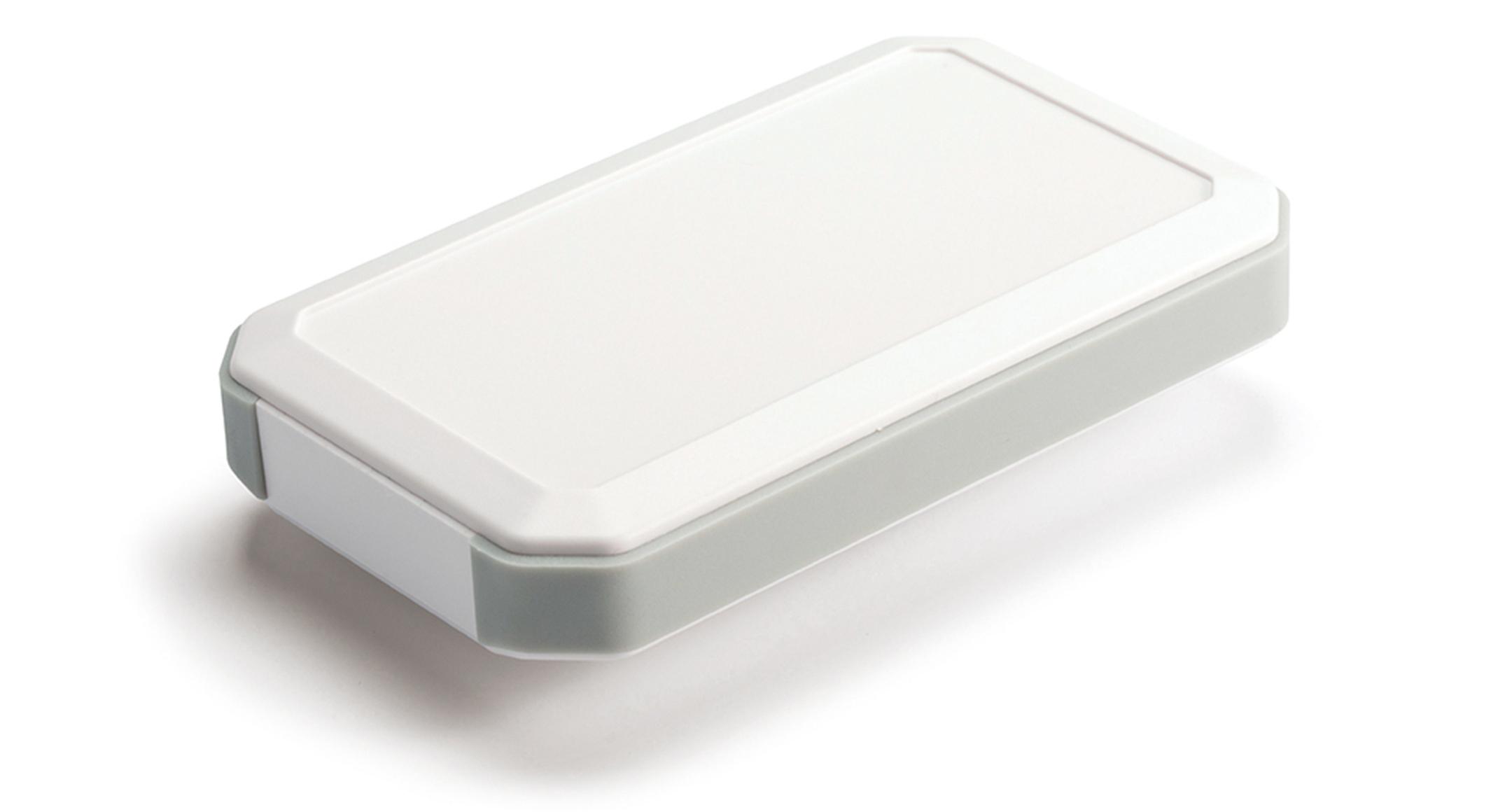 IP67 HANDHELD PLASTIC ENCLOSURE - WH series:Off-white/Light gray